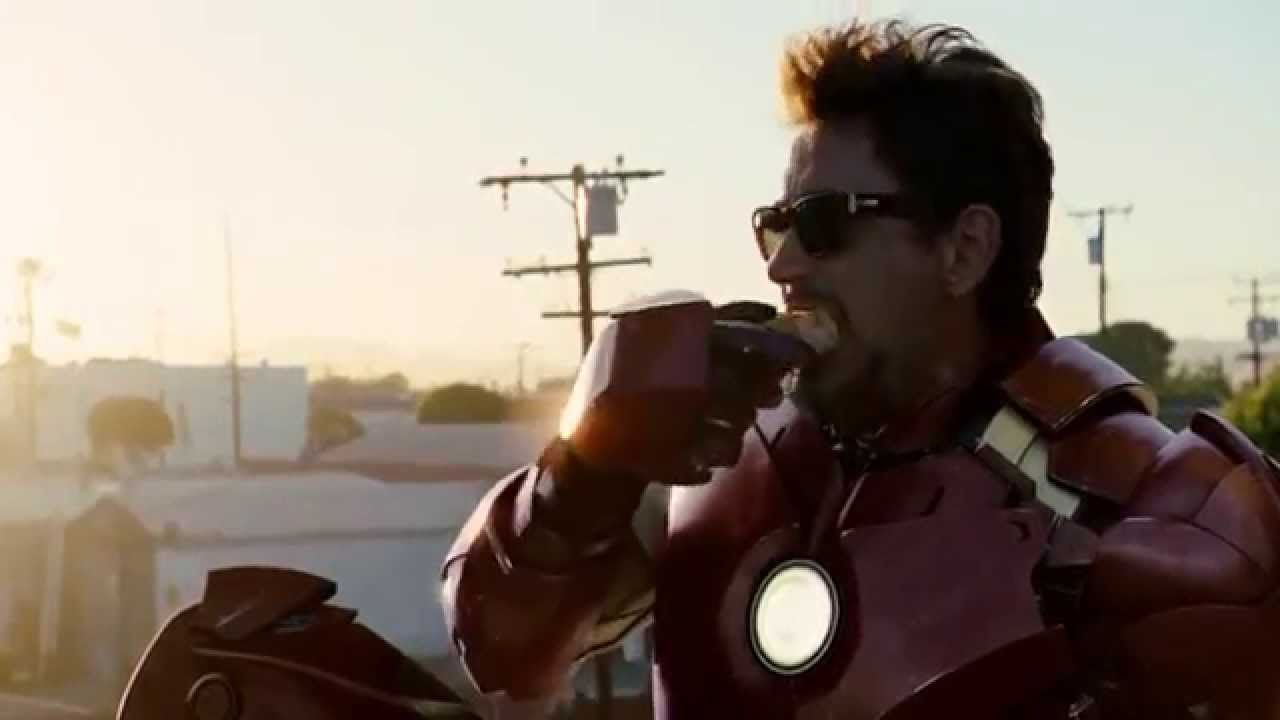 """Iron Man 2 - """"Sir, I'm gonna have to ask you to exit the"""