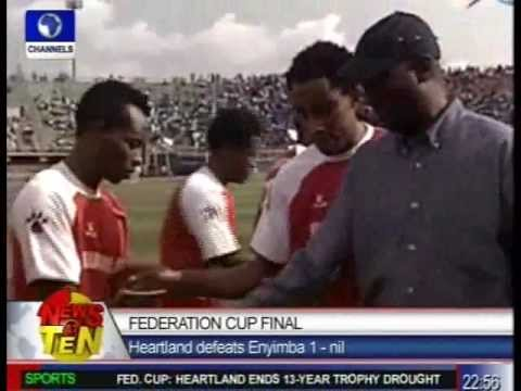 Federation Cup Final:Heartland Defeats Enyimba 1-nil