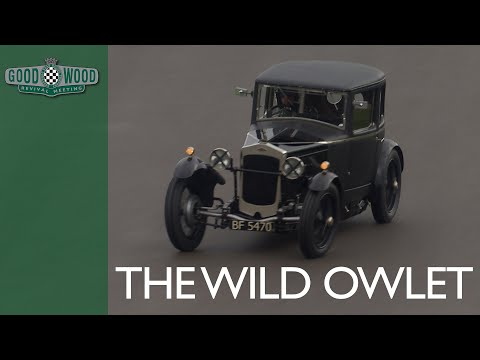 Crazy 1928 Owlet thrown round wet Goodwood