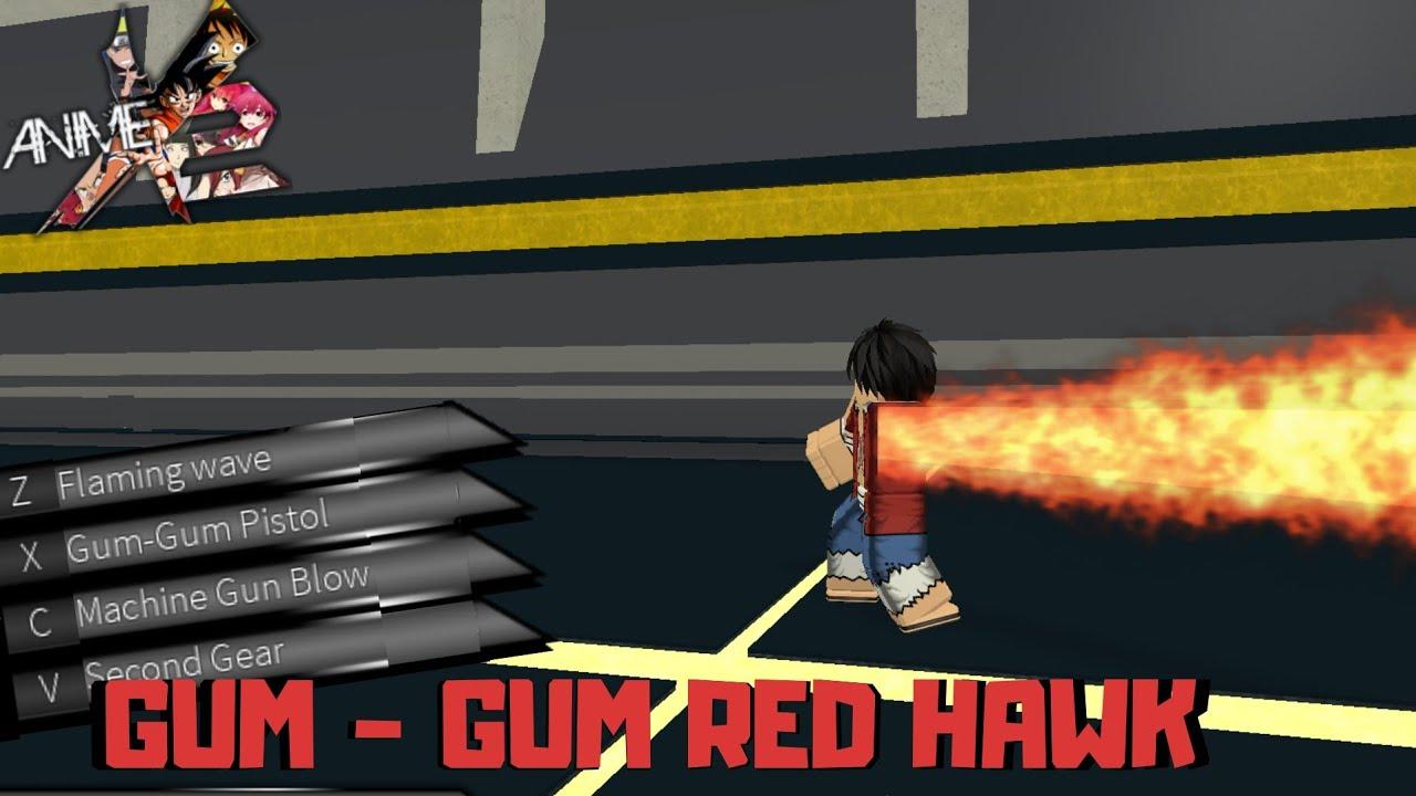 Roblox Hisoka Shirt Gum Gum Red Hawk New Hidden Powers Roblox Anime Cross 2 Youtube