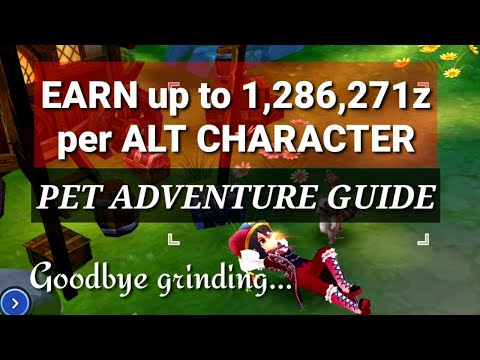Best Pet Adventure Maps for Zeny Farming for ALTS & MAIN - Full Guide with Tips & Tricks