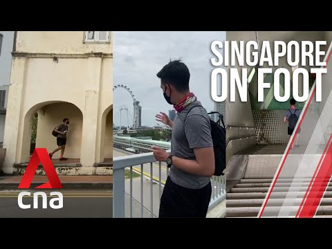 Singapore on Foot: Day 2 - Chinatown, Benjamin Sheares Bridge, East Coast Park