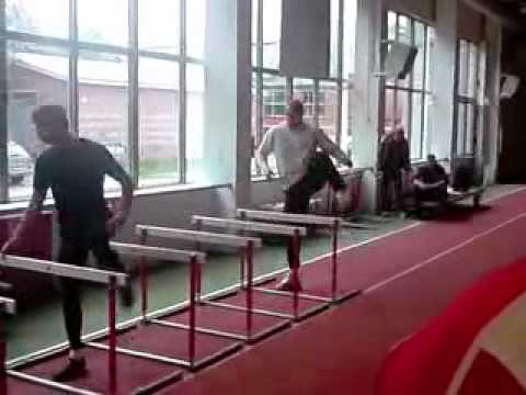 Gerd Kanter Discus Throw Training