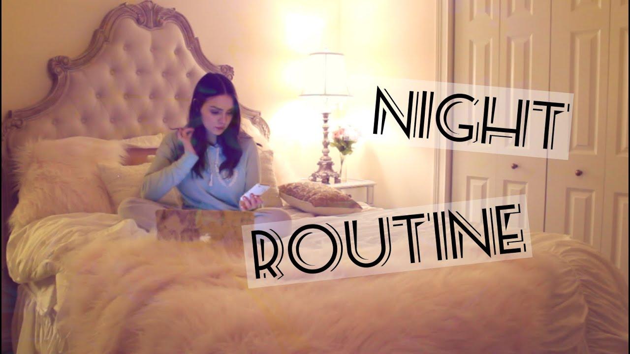 NIGHT ROUTINE! Cat Harmon - YouTube