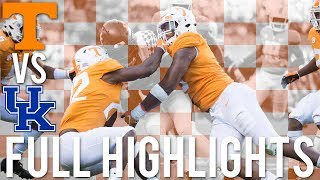 Tennessee Football Highlights vs Kentucky (2018) | HD