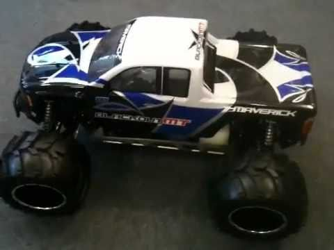 Monster Trucks For Sale >> MV12401 Maverick Blackout MT Petrol RC Monster Truck ...