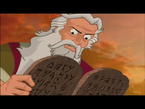 Kids 10 Commandments - The Not So Golden Calf [HD] 2003 Full Mini Movie (Comm 1 & 2)