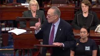 Watch Cornyn and Schumer Spar on the Floor Over Health Care Process