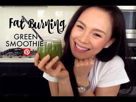 fat-burning-green-smoothie-|-pinterest-recipe-|-boost-metabolism