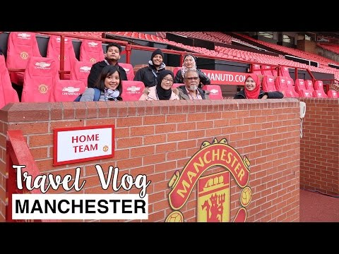 Manchester United Stadium Dec 2016 | Travel Vlog | #albukharidcruz