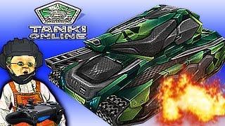 Tanki Online видео для детей как игра Танки X онлайн игра как мультфильмы про танки икс онлайн
