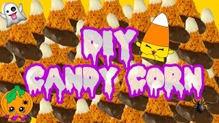 DIY Candy Corn Rice Krispies