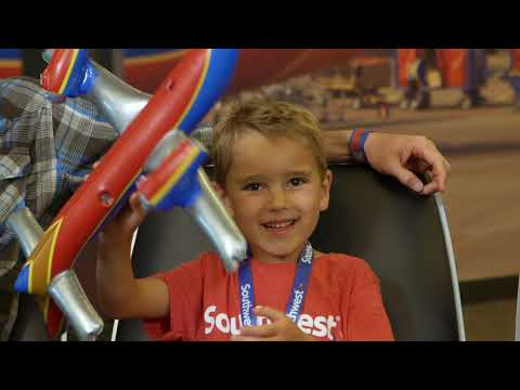 Young Passenger Gets The Birthday Of His Dreams | Southwest Airlines