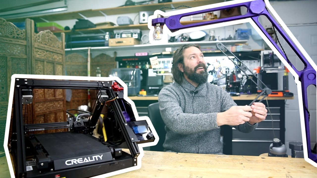 First Look: Creality cr-30 - Infinite Z axis 3d printing