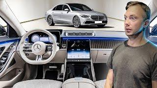 Царь-Мерседес: новый S Класс 2020! Космолет за 10 млн руб! #ДорогоБогато №117 Mercedes S-Class W223