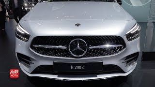 2019 Mercedes B200 D - Exterior And Interior Walkaround - 2018 Paris Motor Show