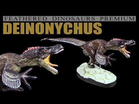 Colorata ® Deinonychus - Feathered Dinosaurs Premium - Unboxing Teil 1