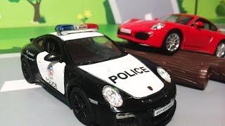 Мультики про машинки для мальчиков. Полицейская машина в ЛЕГО городе. Мультфильмы для детей 2016