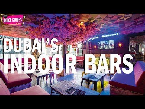 Dubai's top indoor bars in 2019 (for surviving the summer heat)!