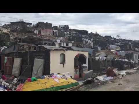 ESMI - Hurricane Matthew Jeremie Haiti City entrance