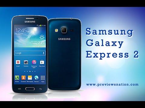 Analisis Samsung Galaxy Express II Español