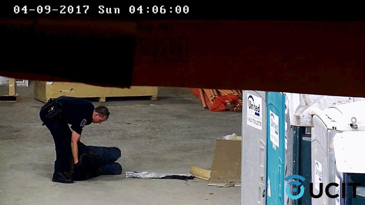 Police Arrest Trespassing Thief - Construction Security