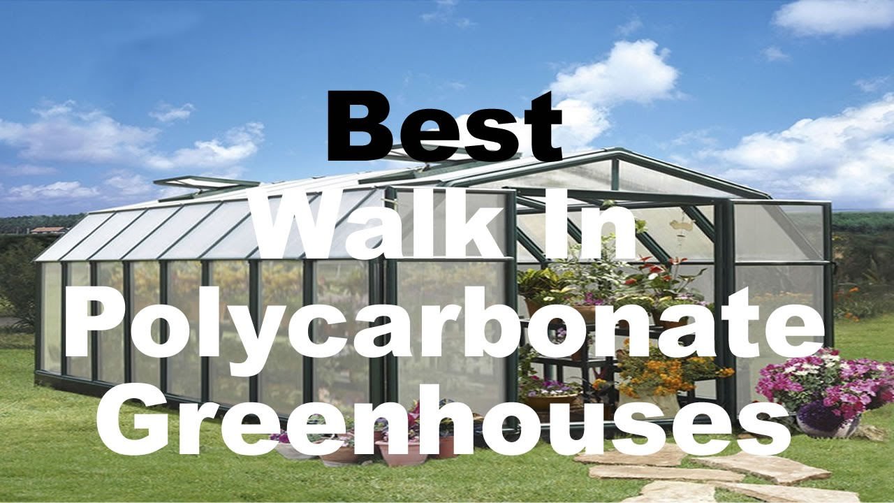 best backyard greenhouses for sale walk in polycarbonate youtube