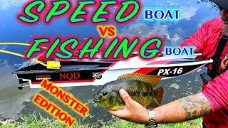 RC Boat catches Fish!! Crazy boat vs boat tournament!