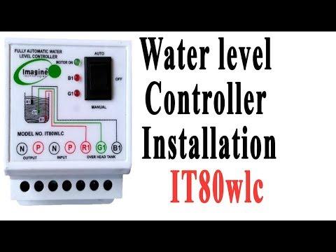 water level controller installation ! IT80wlc ! imagine technologies