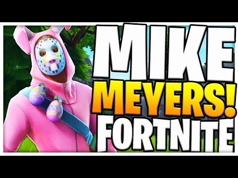 *UPDATE* NEW MIKE MYERS FORTNITE BATTLE ROYALE Hide & Seek Playground Mode