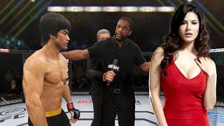 UFC 4   Bruce Lee vs. Sunny Leone (EA Sports UFC 4)