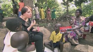 Jo Enright meets her sponsored child Musa in Uganda | sponsor visits | World Vision UK