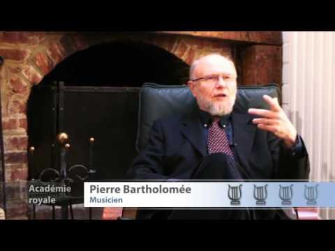 Rencontre avec Pierre BARTHOLOMÉE (1)