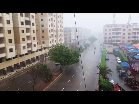 rain in karachi today