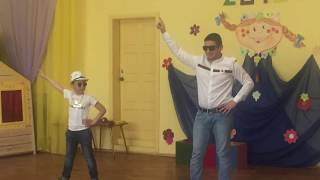 """Я танцую, как хочу"".  Гаджиевы Нурлан и Сеймур. Семейный фестиваль. 2018 г."