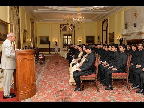President Kovind addresses Assistant Executive Engineers and Deputy Architects of CPWD
