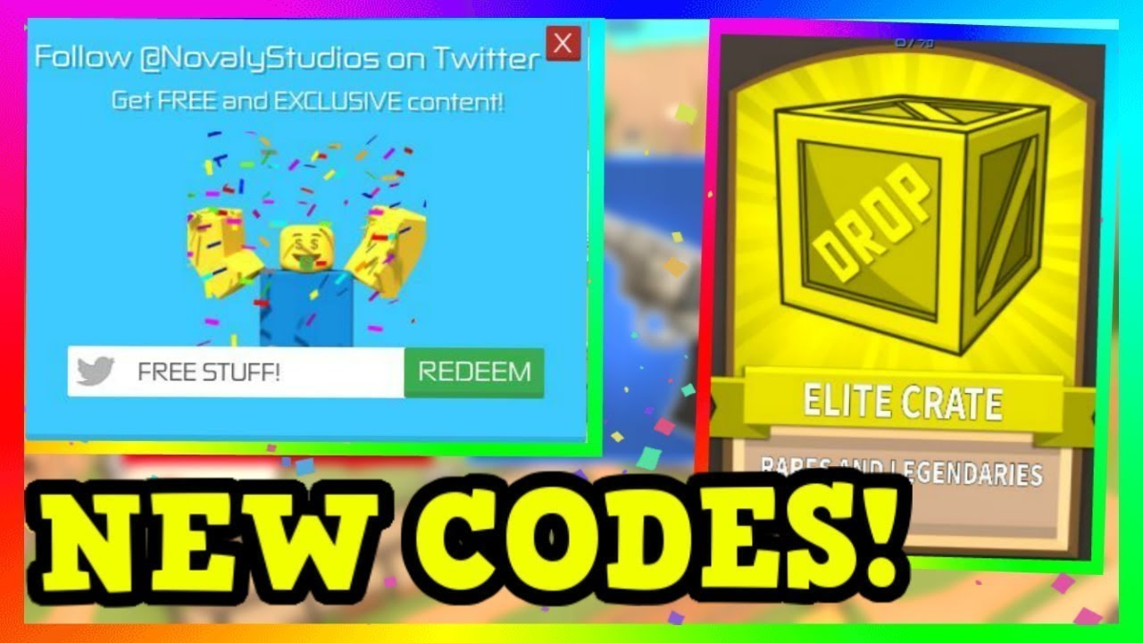 All Unboxing Simulator Release Update Codes 2019 Unboxing Simulator New Update Roblox All Codes For Unboxing Simulator Unboxing Simulator Roblox Youtube