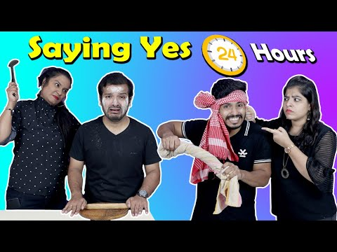 Saying Yes To Girls For 24 Hours Challenge | Hungry Birds