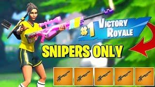 i-won-only-using-snipers-in-fortnite