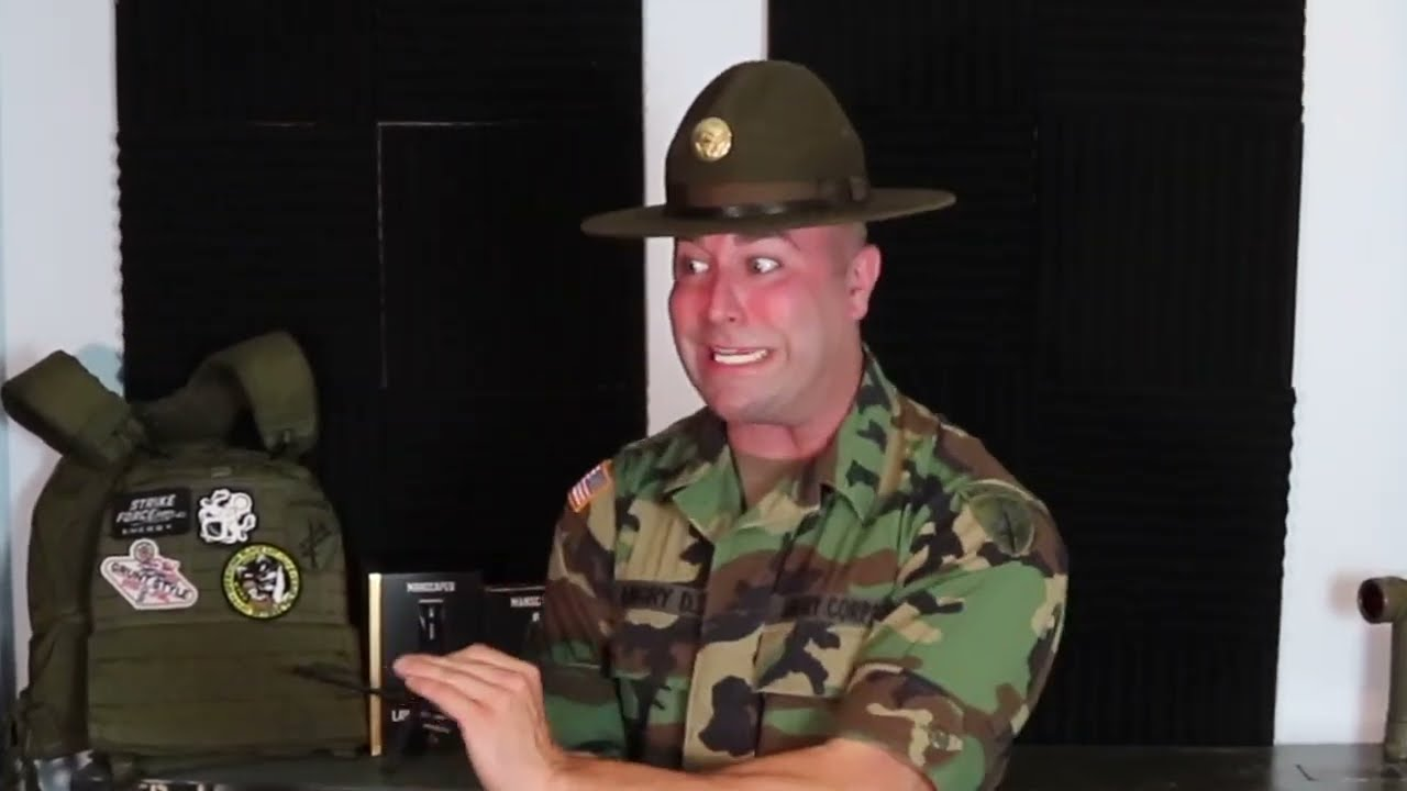 Angry Drill SGT V S  Stolen Valor Unit