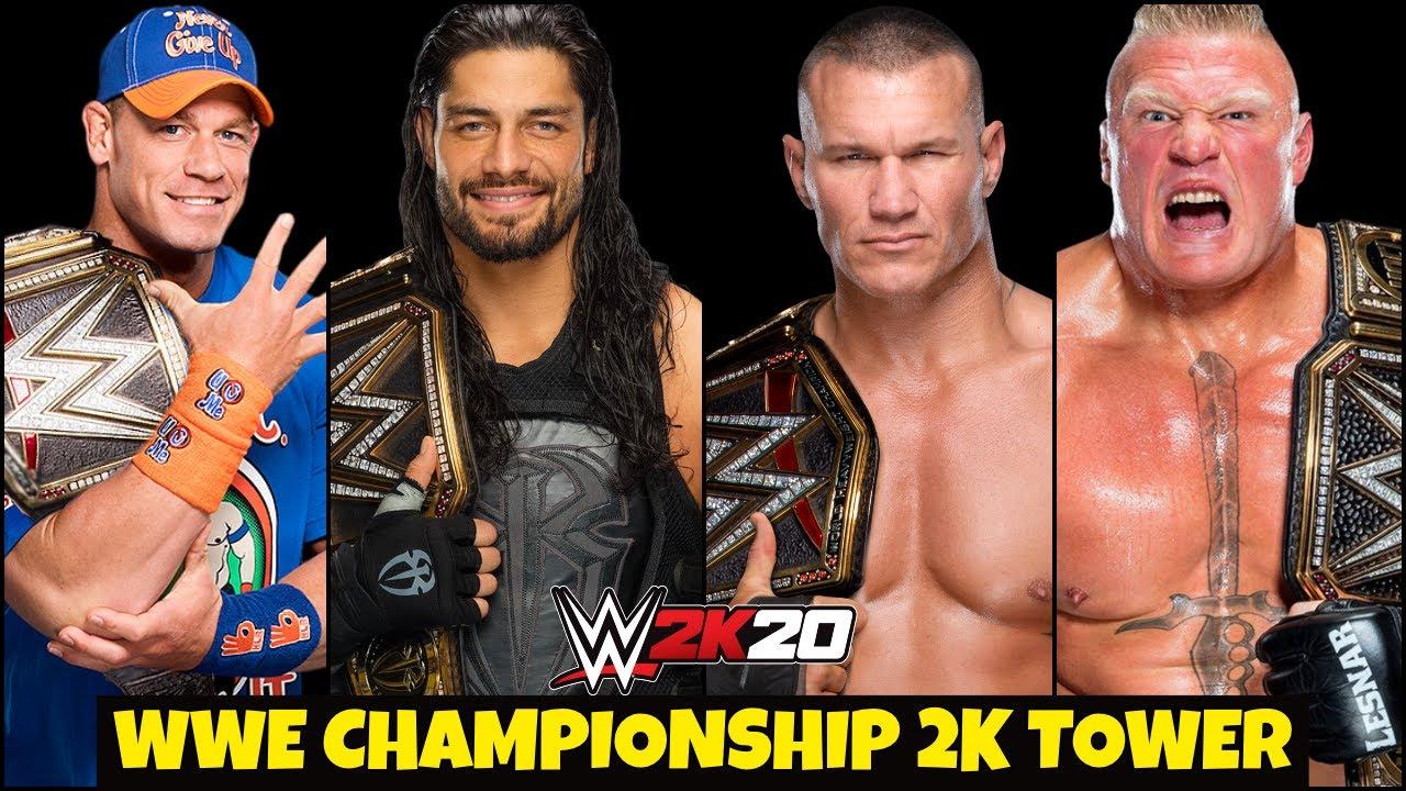 WWE 2K20 WWE Champion TOWER ! WWE 2K20 TOWER Universal Champion ! EPISODE 6