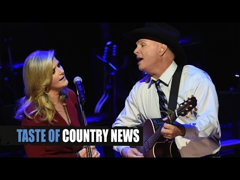 "Garth Brooks, Trisha Yearwood Debut ""Whiskey to Wine"""