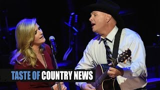 garth brooks trisha yearwood debut whiskey to wine