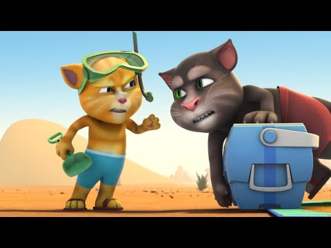 Beach Day in the Desert - Talking Tom and Friends | Season 5 Episode 9