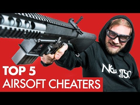 TOP 5 WORST AIRSOFT CHEATERS