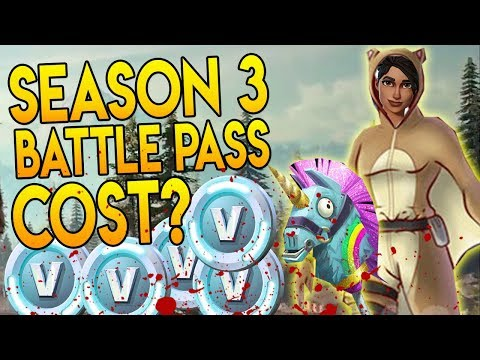 season 3 battle pass cost watch out for fortnite scammers new skin fortnite - fortnite battle pass season 3 price
