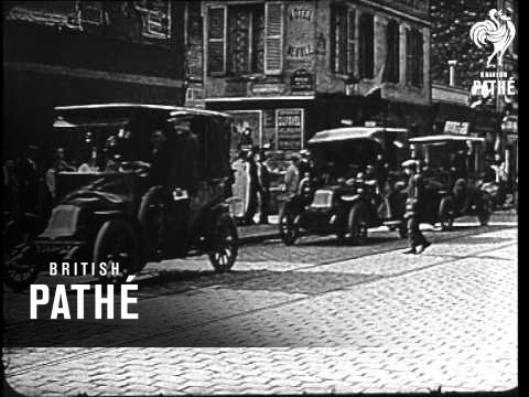 Taxis Of The Marne (1914)