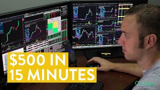 Скачать LIVE Day Trading How To Make 500 In 15 Minutes