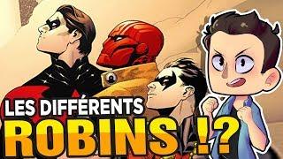 QUI SONT LES DIFFÉRENTS ROBIN ??!!