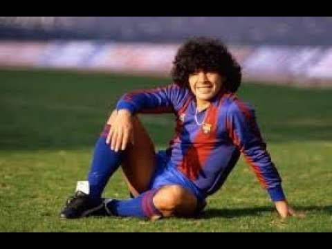 Maradona: Goles y jugadas en Barcelona